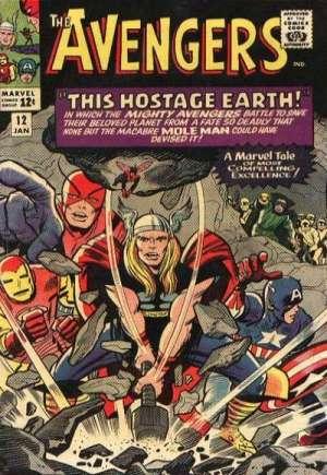Avengers (1963-1996)#12