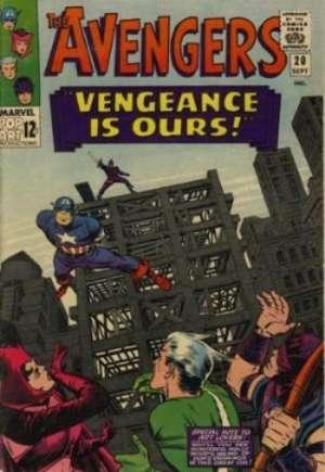 Avengers (1963-1996)#20A