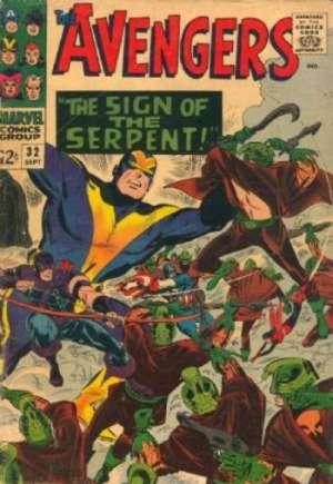 Avengers (1963-1996)#32A
