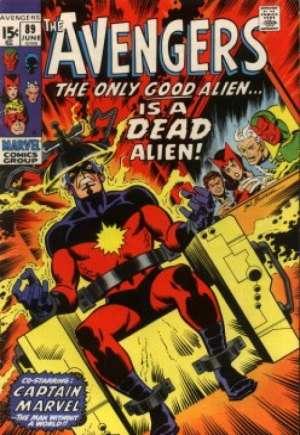 Avengers (1963-1996)#89