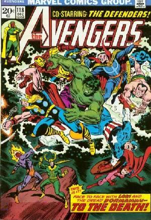 Avengers (1963-1996)#118