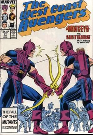 West Coast Avengers (1985-1989)#27B
