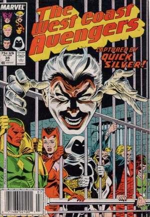 West Coast Avengers (1985-1989)#34A