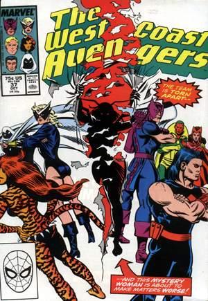 West Coast Avengers (1985-1989)#37B