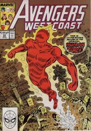 Avengers West Coast (1989-1994)#50B
