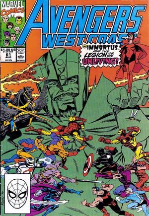 Avengers West Coast (1989-1994)#61B