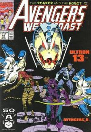 Avengers West Coast (1989-1994)#66B