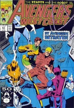 Avengers West Coast (1989-1994)#67B