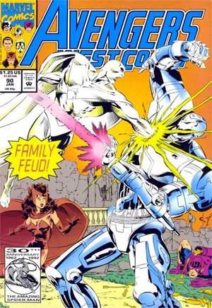 Avengers West Coast (1989-1994)#90B