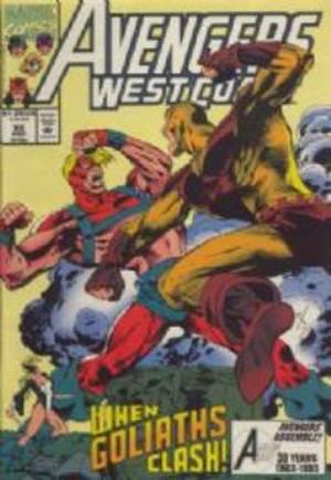 Avengers West Coast (1989-1994)#92
