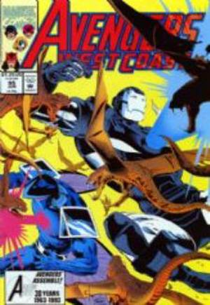 Avengers West Coast (1989-1994)#95
