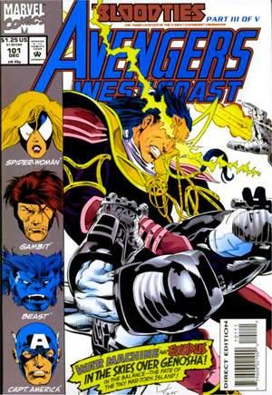 Avengers West Coast (1989-1994)#101B