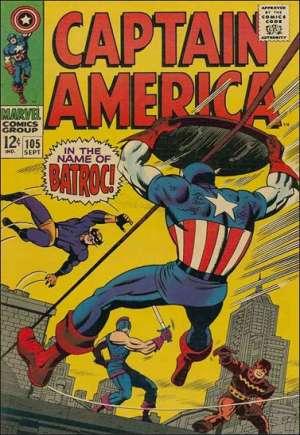 Captain America (1968-1996)#105