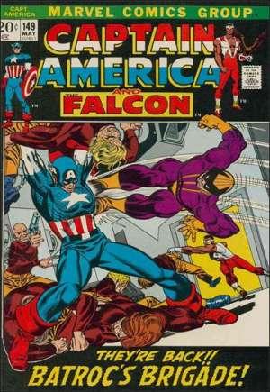 Captain America (1968-1996)#149