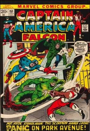 Captain America (1968-1996)#151