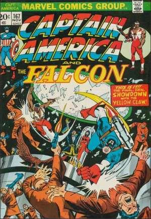 Captain America (1968-1996)#167