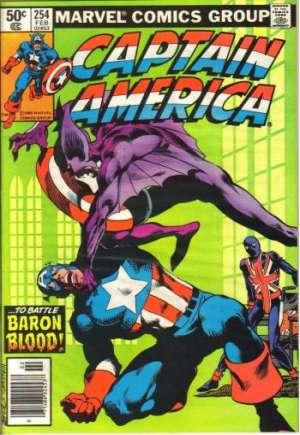 Captain America (1968-1996)#254A