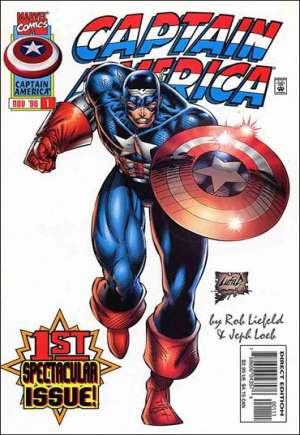 Captain America (1996-1997)#1B