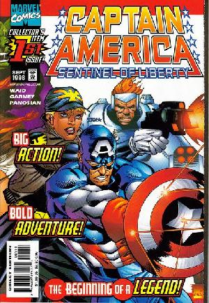 Captain America: Sentinel of Liberty (1998-1999) #1A