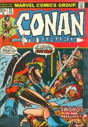 Conan the Barbarian (1970-1993)#23