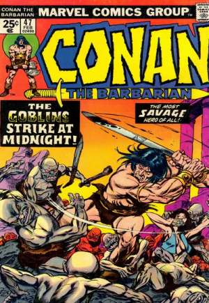 Conan the Barbarian (1970-1993) #47A