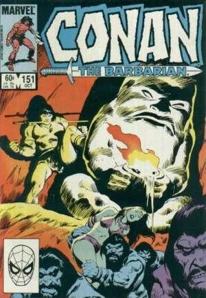 Conan the Barbarian (1970-1993)#151B