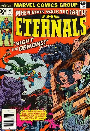 Eternals (1976-1978)#4A