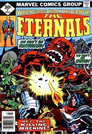 Eternals (1976-1978)#9A