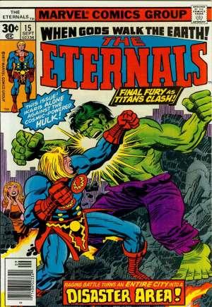 Eternals (1976-1978)#15A