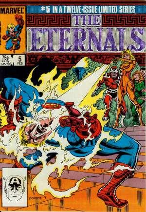 Eternals (1985-1986)#5B