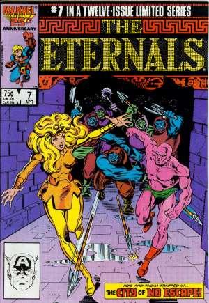 Eternals (1985-1986)#7B