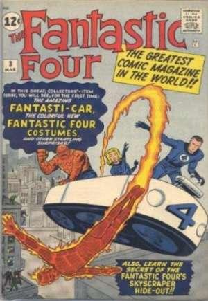 Fantastic Four (1961-1996)#3A