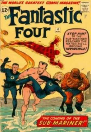 Fantastic Four (1961-1996)#4
