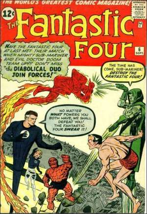 Fantastic Four (1961-1996)#6A