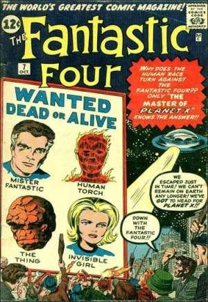 Fantastic Four (1961-1996)#7