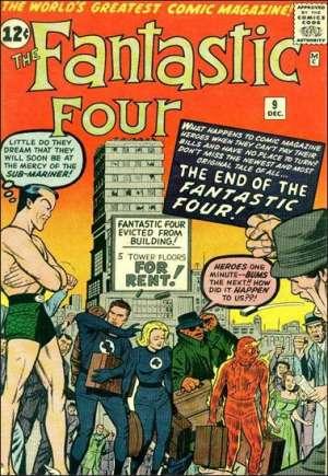 Fantastic Four (1961-1996)#9A