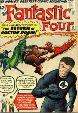 Fantastic Four (1961-1996)#10