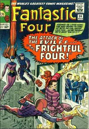 Fantastic Four (1961-1996)#36