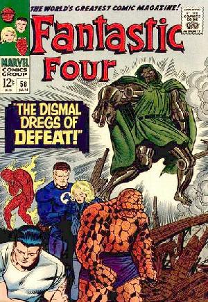 Fantastic Four (1961-1996)#58