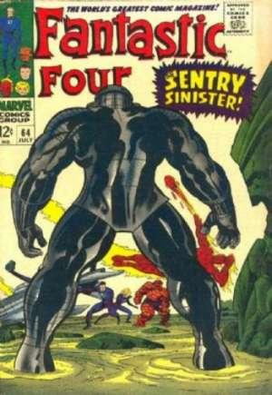 Fantastic Four (1961-1996)#64