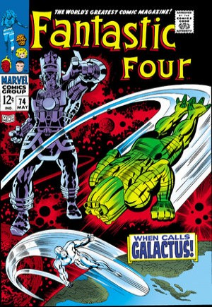 Fantastic Four (1961-1996)#74