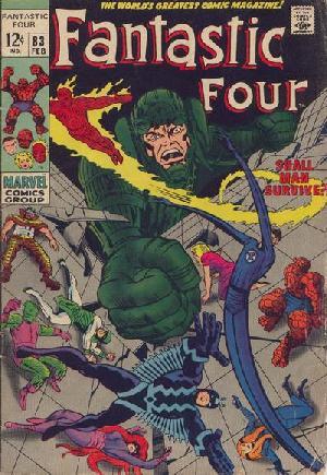 Fantastic Four (1961-1996)#83