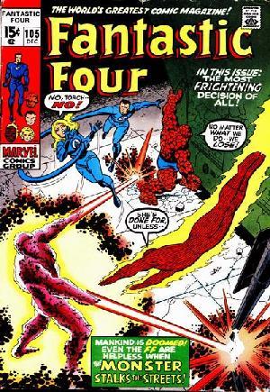 Fantastic Four (1961-1996)#105
