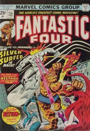 Fantastic Four (1961-1996)#155A