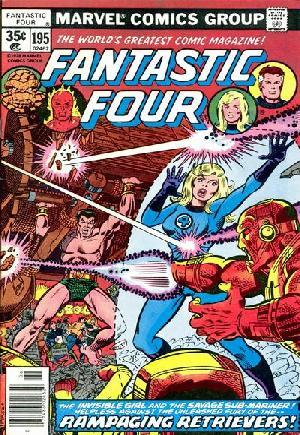 Fantastic Four (1961-1996)#195