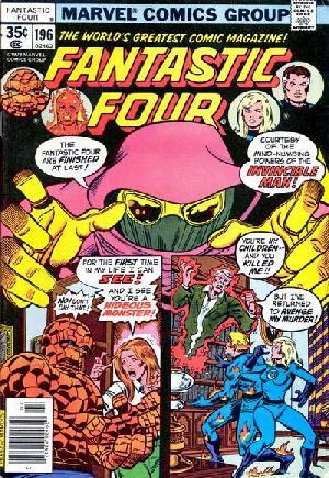 Fantastic Four (1961-1996)#196