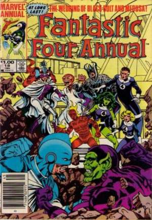 Fantastic Four (1961-1996) #Annual 18A