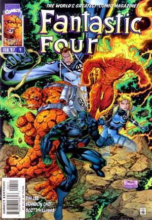 Fantastic Four (1996-1997)#4B