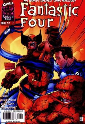 Fantastic Four (1996-1997)#7B