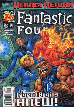 Fantastic Four (1998-2011)#1A